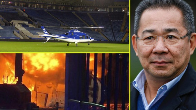 Những người Leicester City cầu nguyện cho tỷ phú Vichai Srivaddhanaprabha