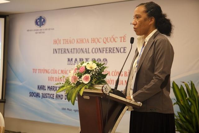 Bà Liliane Danso Dahmen - Giám đốc RLS, Văn phòng Đông Nam Á