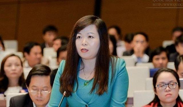 Đại biểu Quốc hội Vũ Thị Như Mai (Hà Nội).