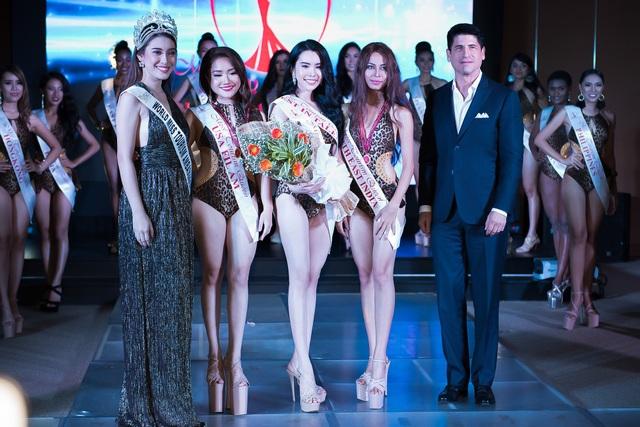 Huỳnh Vy đăng quang Hoa hậu Du lịch Thế giới 2018 - Ảnh 1.
