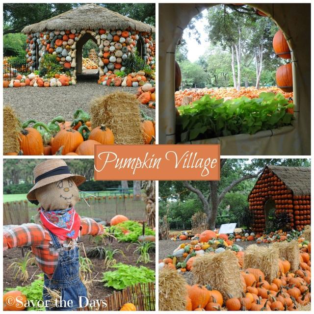 Lễ hội ma quỷ, đến thăm ngôi làng làm từ gần 100.000 quả bí ngô ở Mỹ - 1