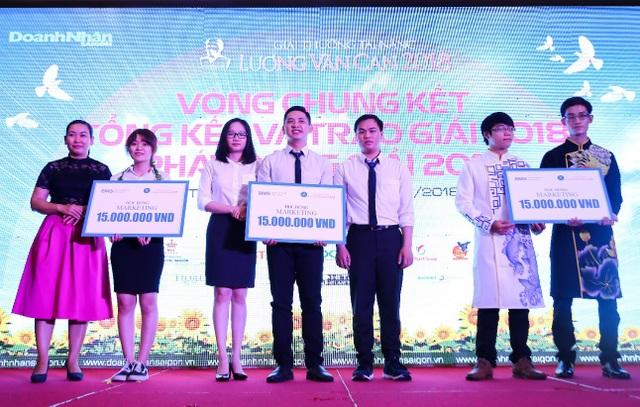 Các đề tài khởi nghiệp của sinh viên HUTECH tại Giải thưởng Tài năng Lương Văn Can 2018 được đánh giá cao.