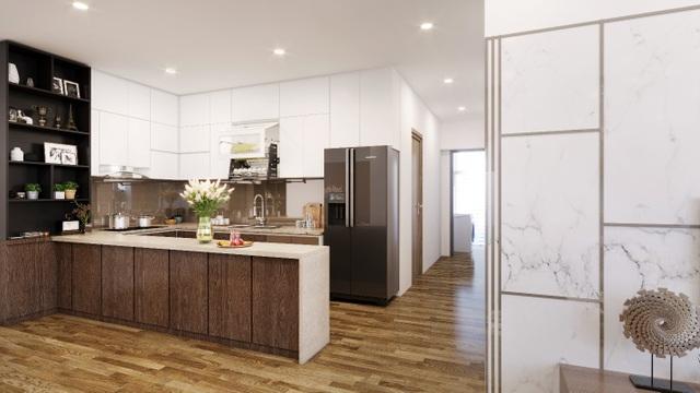 Toàn bộ trần phòng của Eco Green đều đã được xử lý thạch cao, đi kèm với thiết bị điện Schneider – dòng sản phẩm cao cấp đến từ Pháp. Điều hoà trong căn hộ sử dụng Daikin hoặc Samsung.