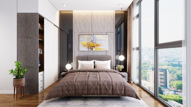 Với thiết kế tiêu chuẩn, 10/11 căn hộ đều là các căn góc với 2 mặt thoáng nên cư dân có thể tận hưởng không khí trong lành ngay tại phòng khách, phòng bếp và cả phòng ngủ.
