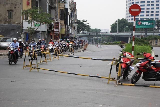 Rào đường Kim Mã phục vụ thi công ga ngầm đường sắt đô thị Hà Nội - 2