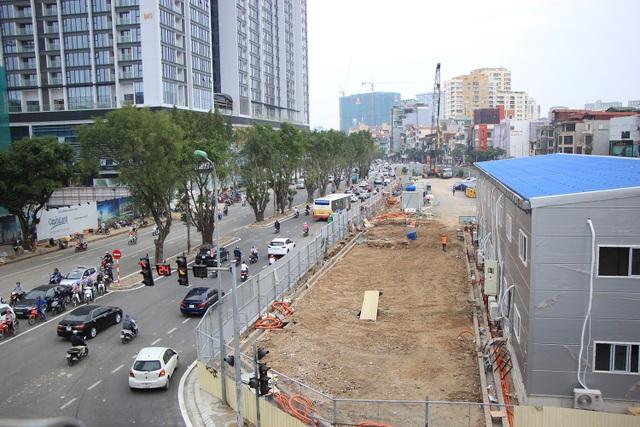 Rào đường Kim Mã phục vụ thi công ga ngầm đường sắt đô thị Hà Nội - 6