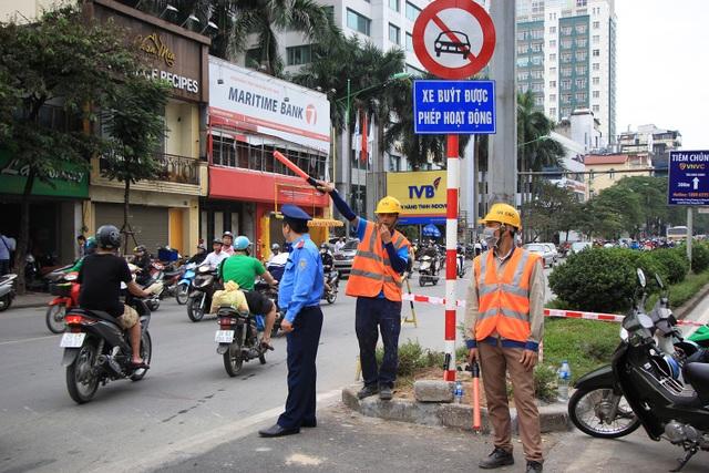 Rào đường Kim Mã phục vụ thi công ga ngầm đường sắt đô thị Hà Nội - 9