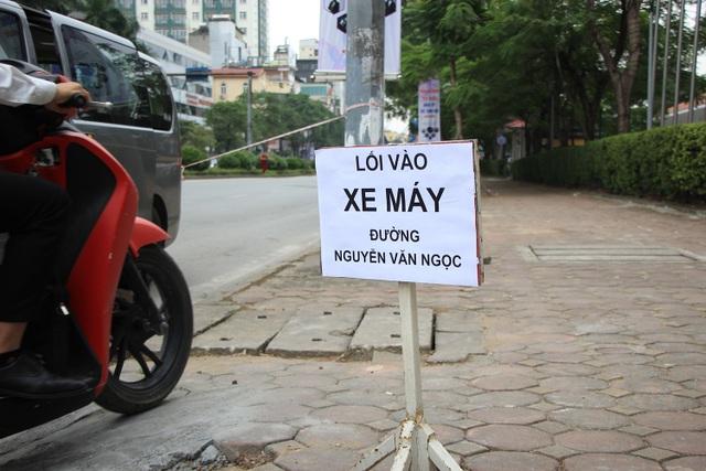 Rào đường Kim Mã phục vụ thi công ga ngầm đường sắt đô thị Hà Nội - 7