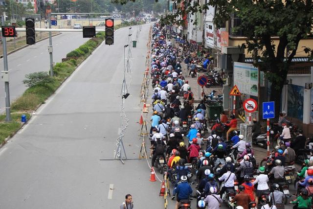 Rào đường Kim Mã phục vụ thi công ga ngầm đường sắt đô thị Hà Nội - 12