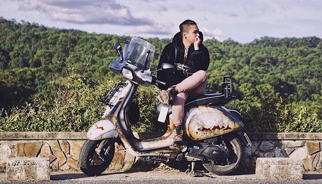 Thái Khang đi du lịch khắp nơi với chiếc xe độc đáo của mình