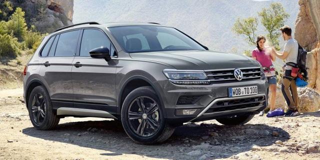 Tiguan là mẫu xe bán chạy nhất hiện nay của Volkswagen