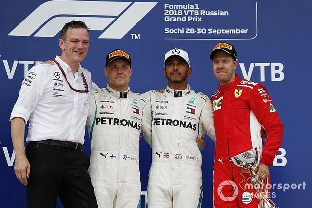 """Bottas chủ động """"nhường"""" chiến thắng chặng Sochi cho Hamilton - 4"""