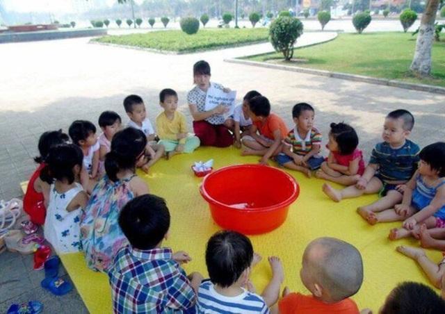 Trong đợt này có 121 giáo viên Mầm non của thành phố Thanh Hóa theo diện hợp đồng được chi trẻ chế độ, chính sách.