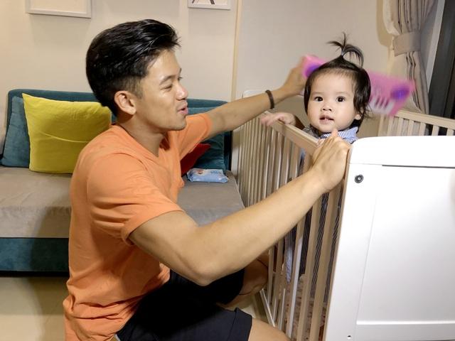 Trọng Hiếu rất yêu quý trẻ em, anh đã có những trải nghiệm thú vị khi thử làm bố.