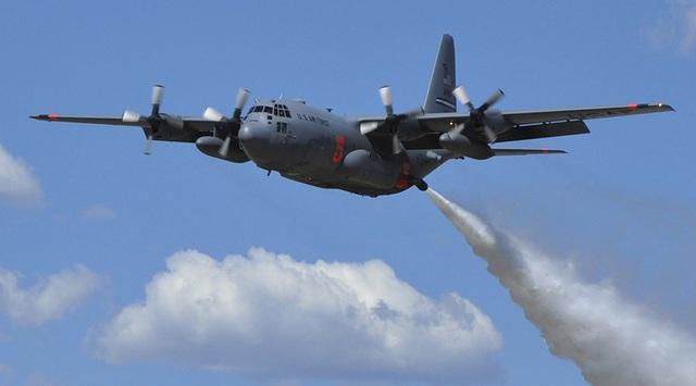 Máy bay C-130 Hercules của Mỹ (Ảnh: Reuters)