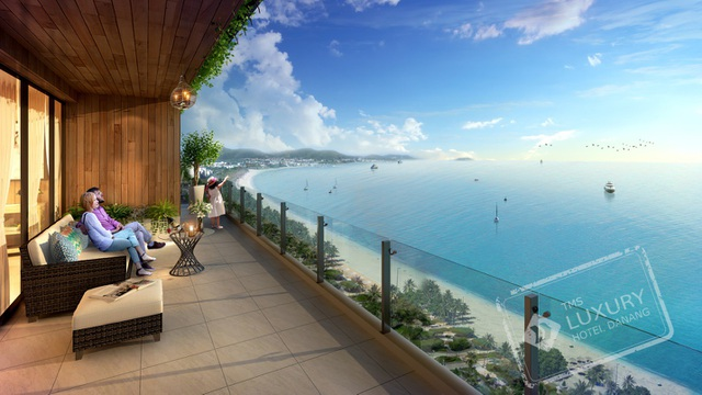Pic 2: TMS Luxury Hotel Da Nang Beach sở hữu 80% căn hộ hướng biển