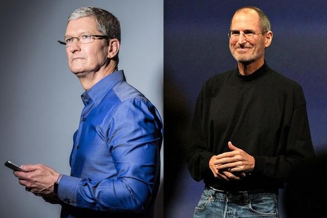 Apple đã có một bước chuyển đổi lớn từ thời Steve Jobs sang Tim Cook.