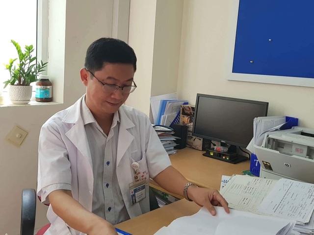 TS.BS Lê Thanh Đức- Trưởng khoa Nội 5, BV viện K.