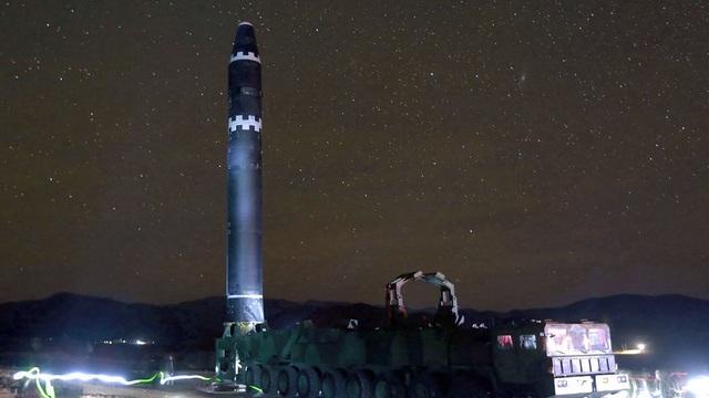 Hàn Quốc cho rằng, Triều Tiên đang sở hữu 20-60 vũ khí hạt nhân. (Ảnh minh họa: AFP)