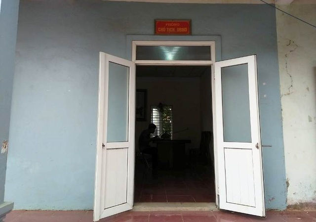 Phòng Chủ tịch UBND xã Trung Thành