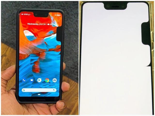 """Lỗi """"mọc thêm"""" tai thỏ trên Google Pixel 3 XL khiến người dùng khó chịu."""