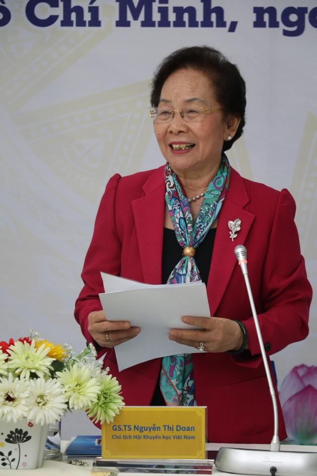 Bà Nguyễn Thị Doan đề nghị Bộ GD-ĐT phải xóa bỏ bệnh thành tích, hình thức trong giáo dục đào tạo, đi học chỉ để có bằng mà không coi trọng năng lực