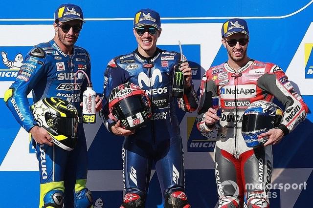 Vinales chiến thắng trong ngày bộ đôi Repsol Honda Team bỏ cuộc - Ảnh 11.