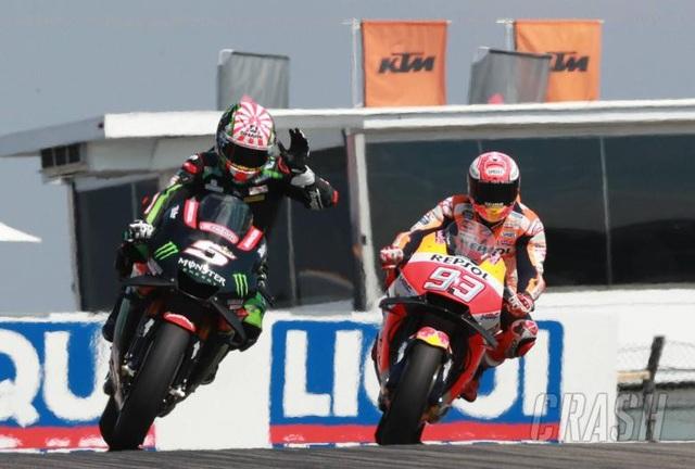 Vinales chiến thắng trong ngày bộ đôi Repsol Honda Team bỏ cuộc - Ảnh 1.