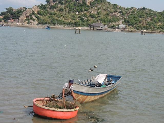 Tôm cá được ngư dân đánh bắt ngay bên bờ biển hoặc trong Đầm Nại xong đem lên chợ để bán ngay
