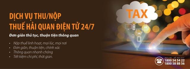 Đẩy mạnh thanh toán trực tuyến, SHB triển khai dịch vụ thu nộp thuế hải quan điện tử 24/7 - 1
