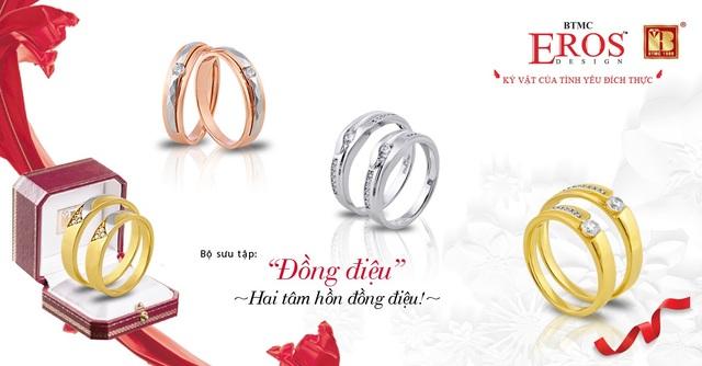 Giúp các cô dâu chú rể chọn được cặp nhẫn cưới ưng ý - Ảnh 1.