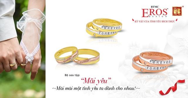 Giúp các cô dâu chú rể chọn được cặp nhẫn cưới ưng ý - Ảnh 2.