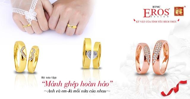 Giúp các cô dâu chú rể chọn được cặp nhẫn cưới ưng ý - Ảnh 3.