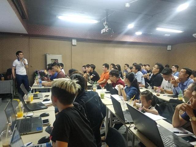 Phần mềm Ninja thường xuyên tổ chức buổi đào tạo chia sẻ với khách hàng