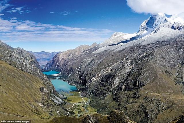 """Đứng thứ ba trong danh sách Top 10 khu vực hấp dẫn là Bắc Peru (ảnh). Lonely Planet nói rằng nơi đây là nhà của """"một số cảnh quan hoang dã nhất thế giới"""""""
