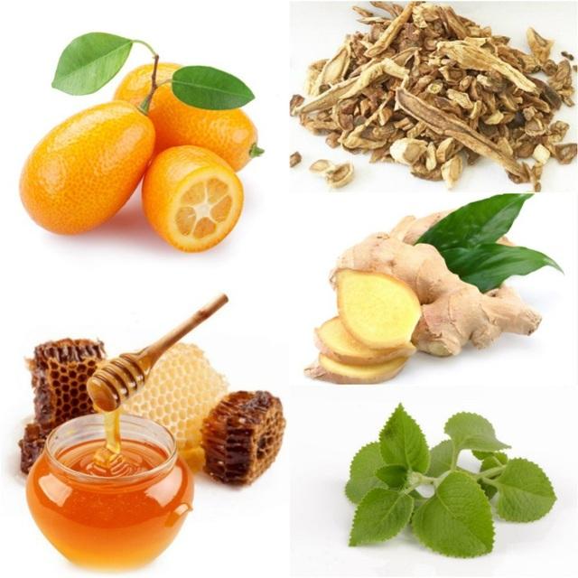 Các sản phẩm thảo dược như siro ho cảm với thành phần: Quất, Mật Ong, Húng Chanh, Gừng, Cát Cánh nên được ưu tiên sử dụng ngay khi trẻ có dấu hiệu nhiễm lạnh, cảm lạnh.