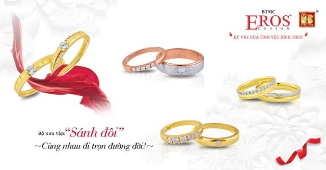 Giúp các cô dâu chú rể chọn được cặp nhẫn cưới ưng ý - Ảnh 4.