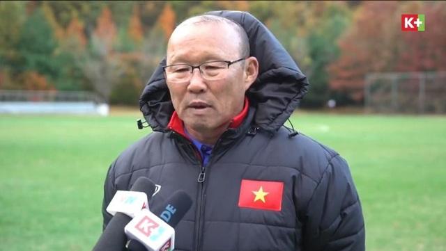 HLV Park Hang Seo tỏ ra đặc biệt kín đáo về danh sách chính thức của đội tuyển Việt Nam dự AFF