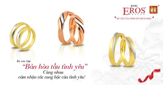 Giúp các cô dâu chú rể chọn được cặp nhẫn cưới ưng ý - Ảnh 6.