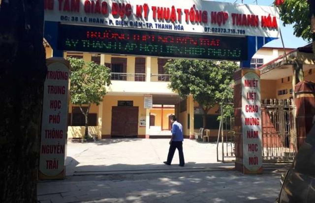 Theo chỉ đạo của Sở GD&ĐT, trường THPT Nguyễn Trãi phải thông báo cho học sinh quay lại trường học từ ngày mai 2/11.