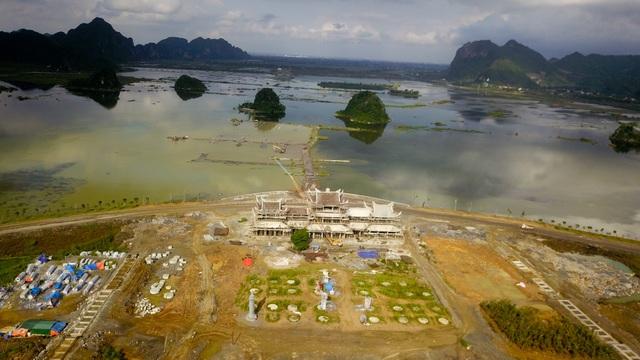 Dự tính, quần thể chùa sẽ được hoàn thành vào năm 2048. Như vậy, thời gian từ khi khởi công đến khi hoàn thành là 50 năm.
