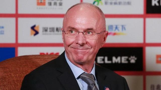 HLV Sven-Goran Eriksson muốn tìm thử thách mới ở Philippines