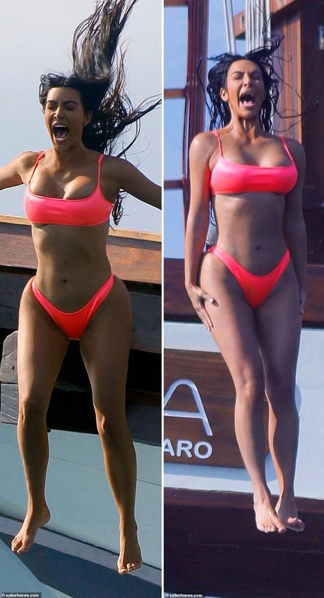 Kim Kardashian vốn là một người rất chăm chút hình thức. Cô tập gym đều đặn và ăn kiêng nghiêm ngặt để giữ dáng kể từ khi sinh đứa con thứ hai.