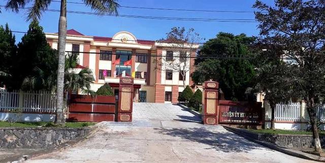 Trụ sở làm việc của Huyện ủy Hướng Hóa.