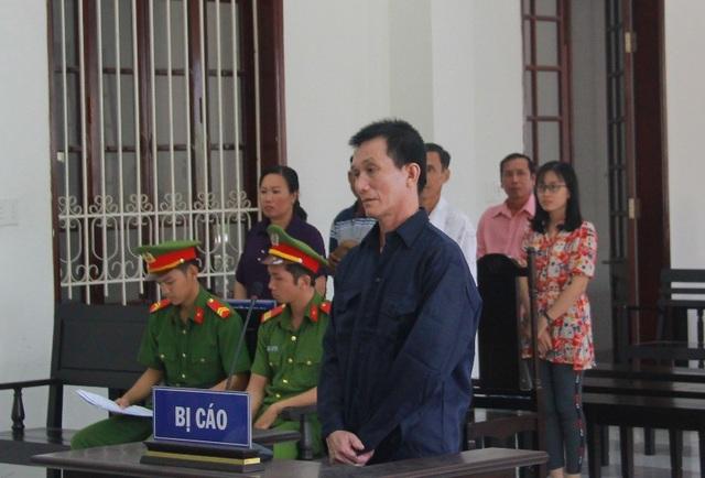 Bị cáo Dương Quang Long tại phiên xét xử hôm nay