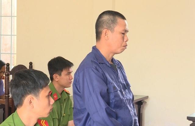 Bị cáo Phát tại tòa