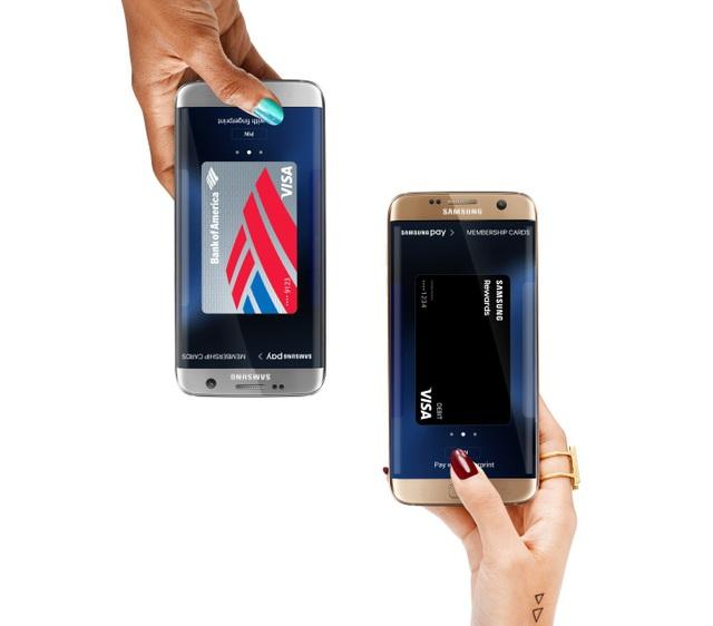Samsung Pay Card bảo mật tối đa với thao tác quét mống mắt hoặc vân tay khi thanh toán; mã Pin 6 số hoặc chữ ký khi chuyển khoản, chưa kể công nghệ mã hóa Tokenization và tra quét Knox