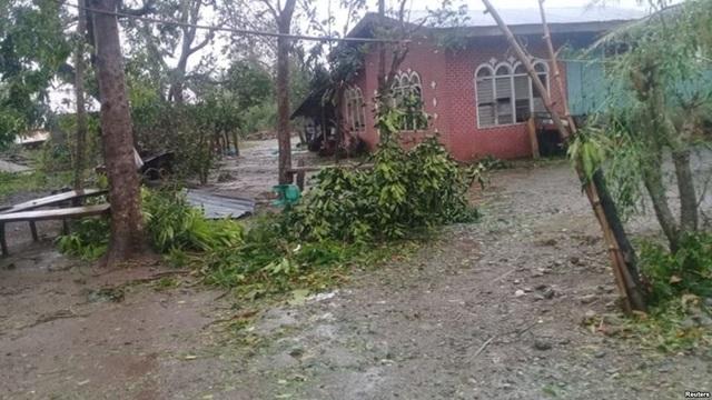 Bão Yutu tàn phá tỉnh Isabela (Ảnh: Reuters)