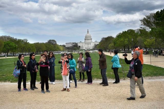 Khách du lịch Trung Quốc tại Mỹ. (Ảnh: Getty)