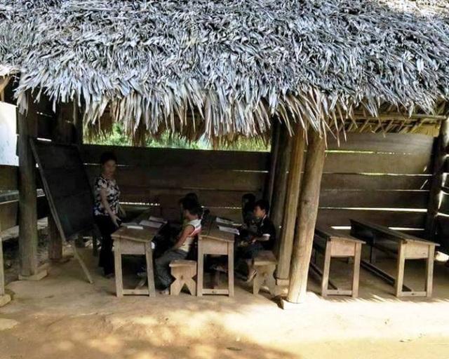 Dù học ở khu lẻ được gần nhà nhưng cơ sở vật chất không đảm bảo, chất lượng giáo dục bị hạn chế.